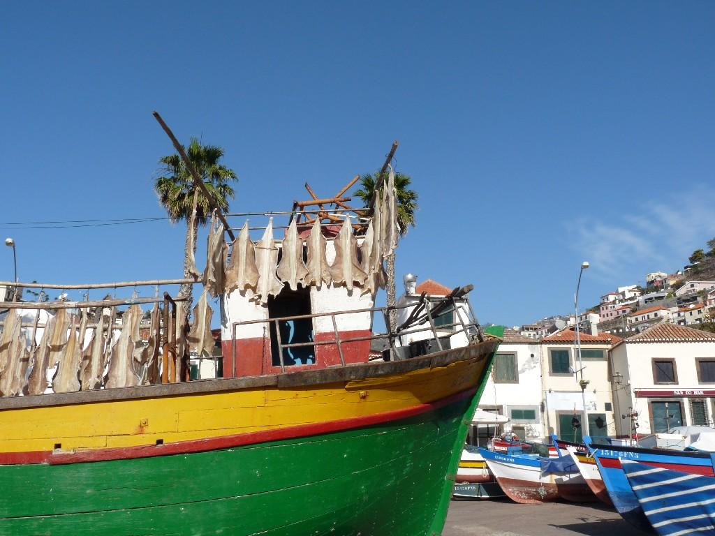 Satul pescaresc Camara de Lobos - Madeira - Portugalia