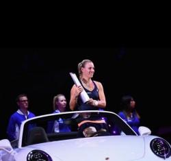 Angelique Kerber, triumfătoare la Stuttgart