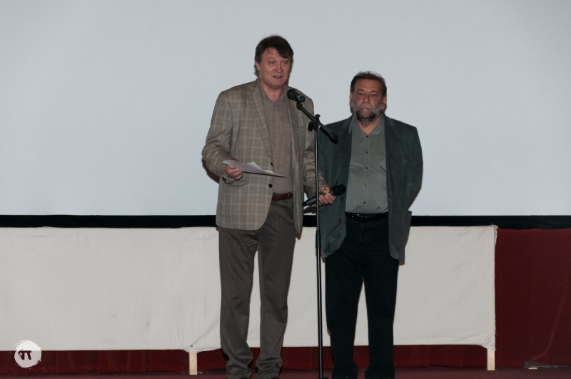 moscu copel, director cinepolitica, si florin iaru, membru al juriului