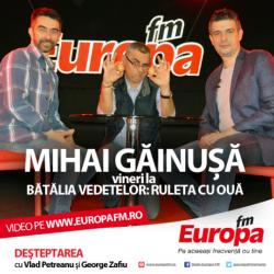Ruleta cu Ouă: Mihai Găinuşă vs. George Zafiu – VIDEO