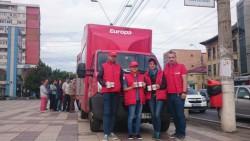 Loteria cănilor aniversare Europa FM a continuat joi în Galați – GALERIE FOTO