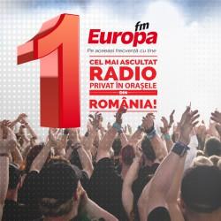 Deșteptarea, cel mai ascultat matinal din România! Europa FM este cel mai ascultat radio privat în orașele României