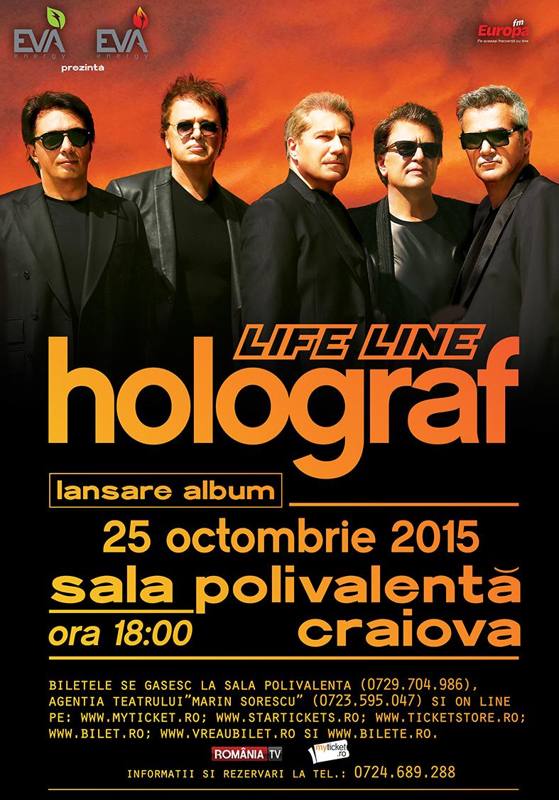 Holograf Life Line Poster Craiova