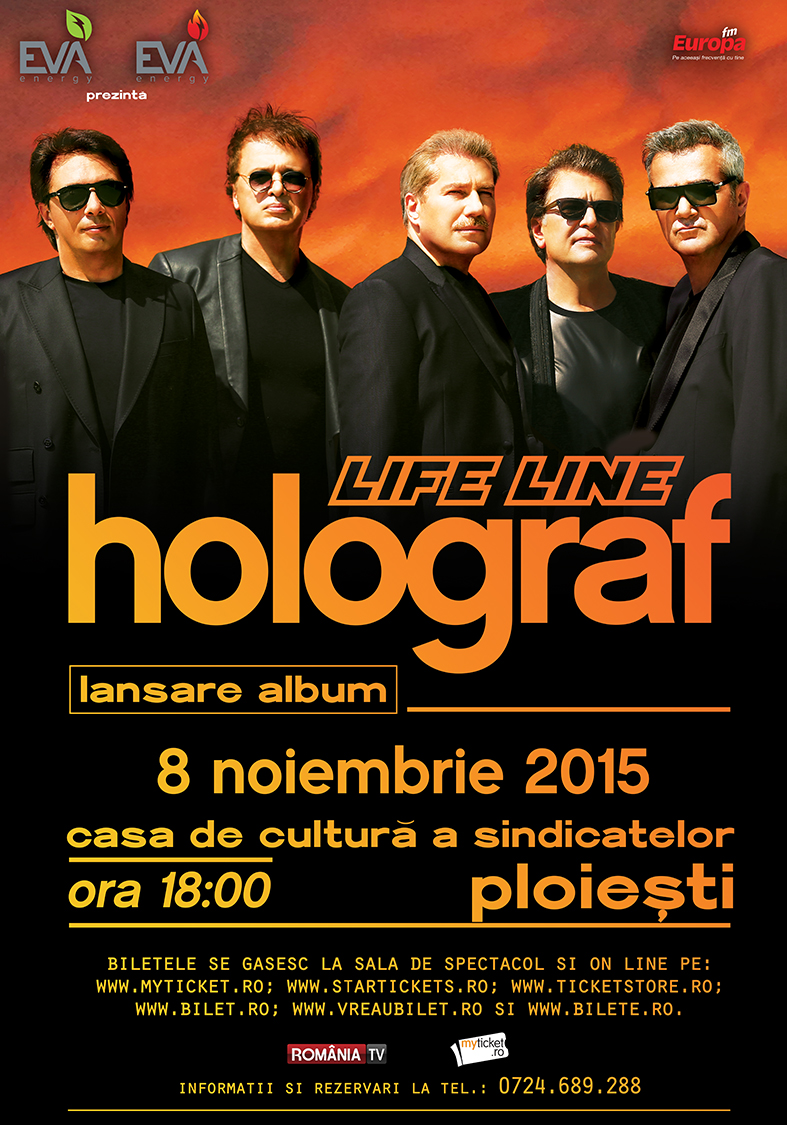 Holograf Life Line Poster Ploiesti