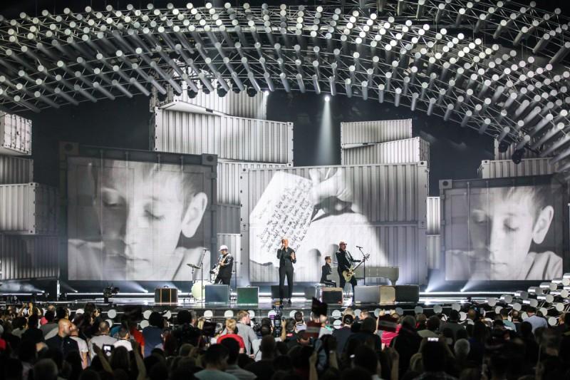 voltaj la prima semifinala eurovision