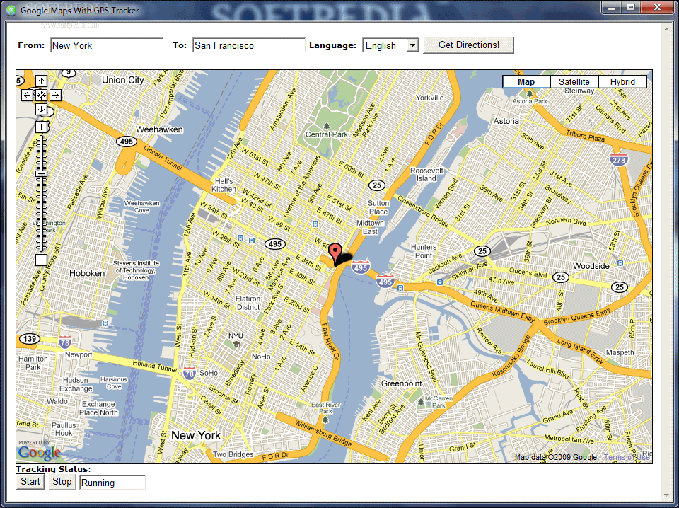 Google Maps With GPS Tracker 31   Datel IT Web design ,creare site,realizare site,magazin online,blog