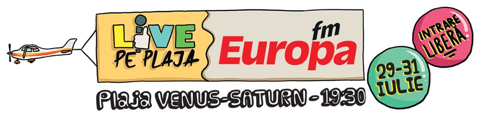 Header Europa FM Live pe Plaja 2016