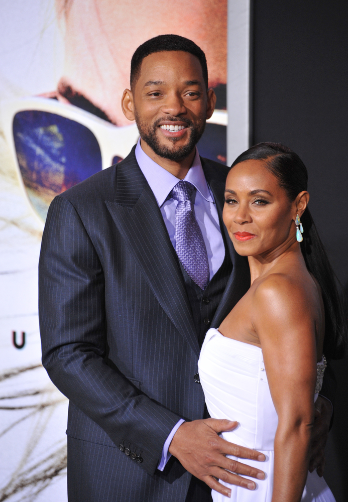 Will Smith Jada Pinkett Smith Jaguar PS shutterstock