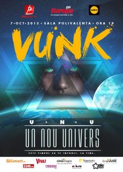 """Premieră în România: Filmare 360 de grade la concertul Vunk """"Un nou univers"""" – VIDEO"""