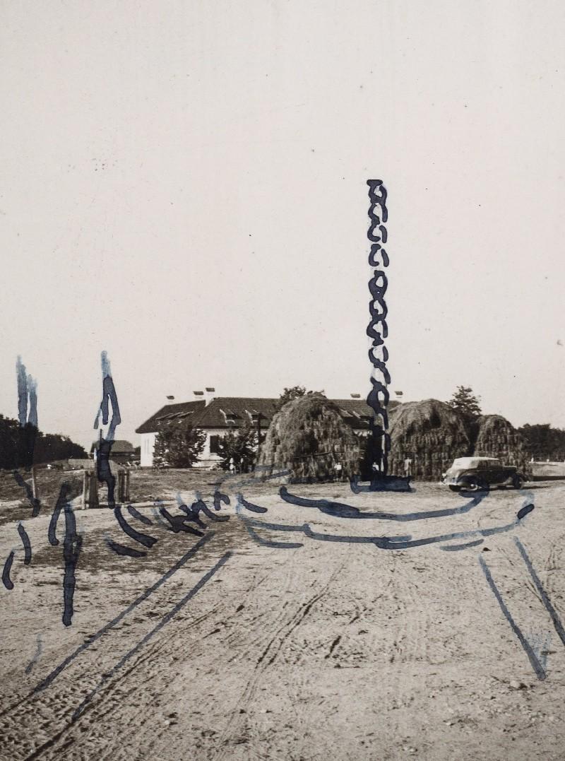 Coloana Infinitului schita originala a lui Constantin Brancusi
