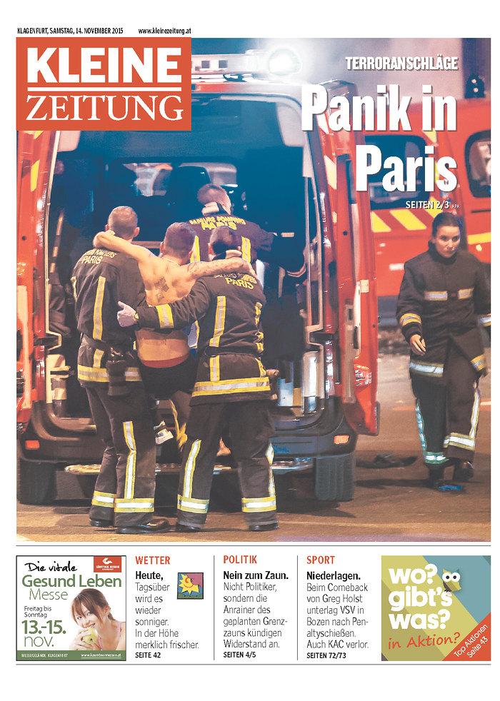 AUT_Kleine Zeitung - Klagenfurt 14 NOIEMBRIE 2015