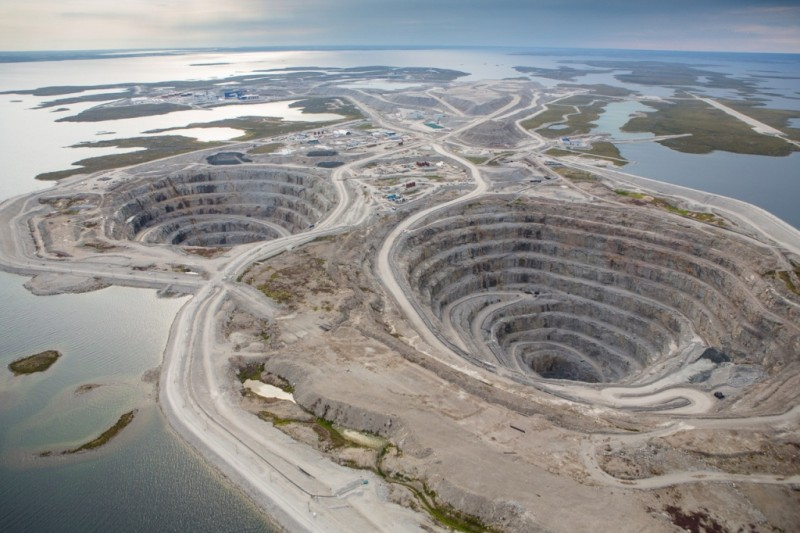 Diavik dimond mine