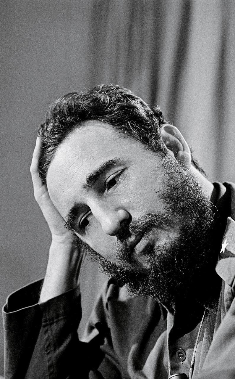 Fidel Castro_Elliott Erwitt