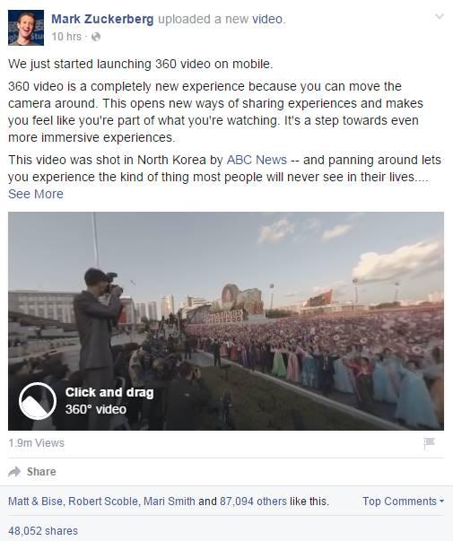 Mark Zuckerberg 360