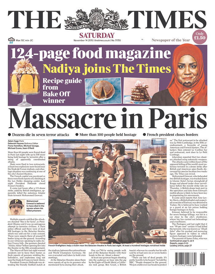 UK_The Times 14 NOIEMBRIE 2015