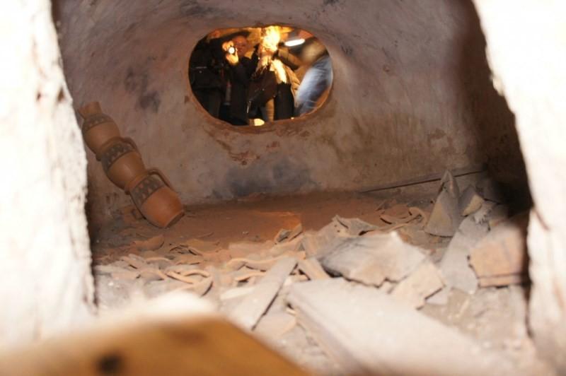cuptorul cu vase la ars