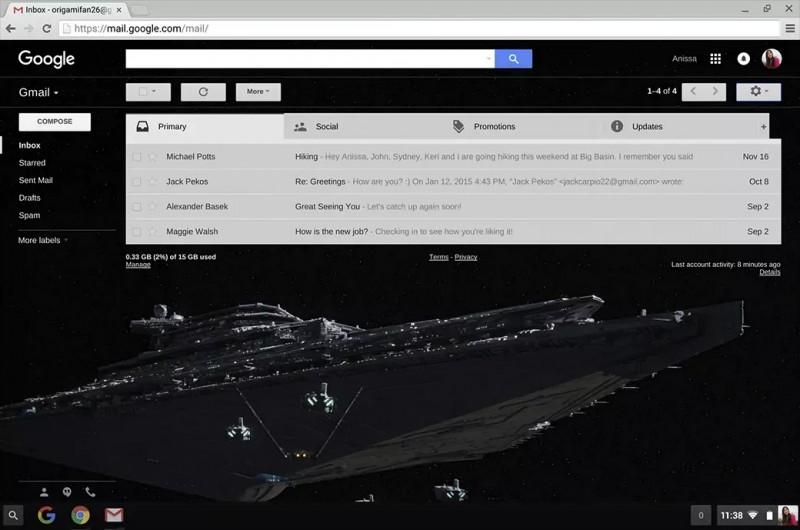 gmail star wars