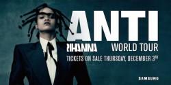 Rihanna pleacă în turneu mondial de anul viitor ( AUDIO )