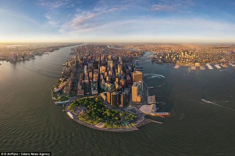 Cartierul Manhattan din New York