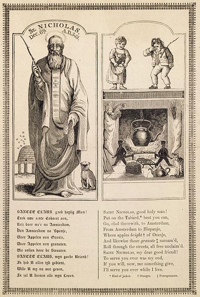 Sinterklaas 1810 wikimedia