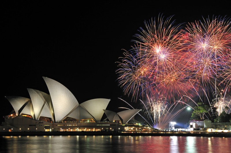 artificii sydney Max Earey  Shutterstock