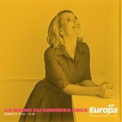 Top 5 cele mai urmărite emisiuni La Radio cu Andreea Esca din 2016