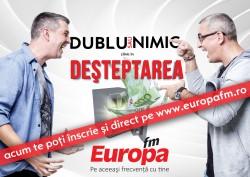 Înscrie-te online la DUBLU sau NIMIC