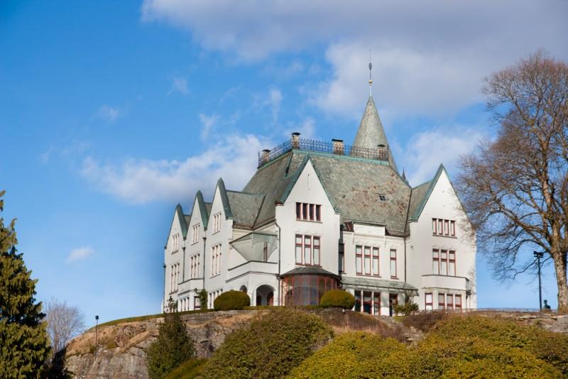 Castelul Gamlehaugen shutterstock