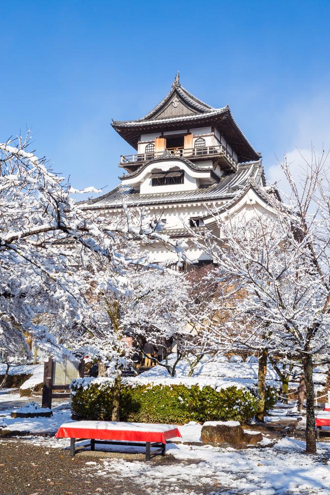 Castelul Inuyama shutterstock