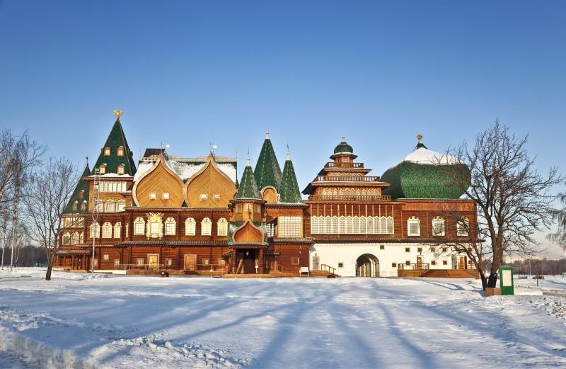 Palatul ţarului Alexei Mikhailovich shutterstock