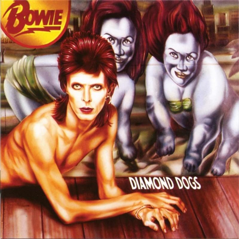 david bowie coperta album Diamond Dogs 1974