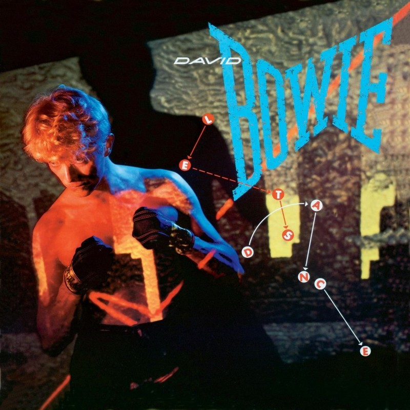 david bowie coperta album Lets Dance 1983