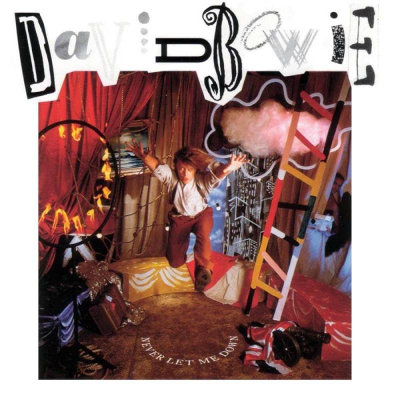 david bowie coperta album Never Let Me Down 1987