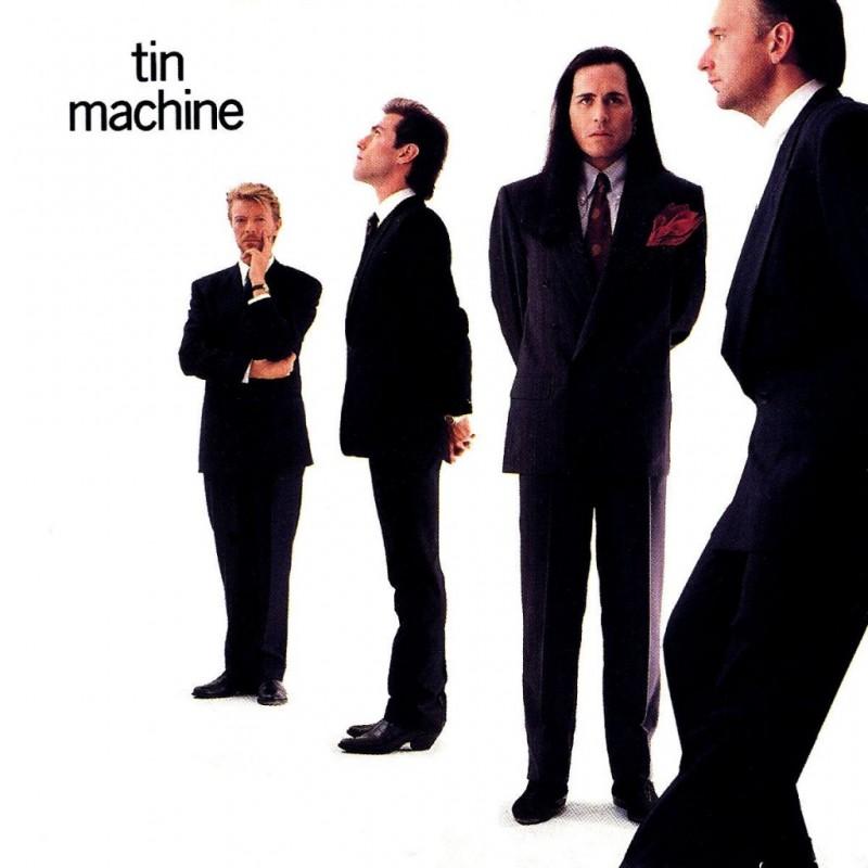 david bowie coperta album Tin Machine 1989