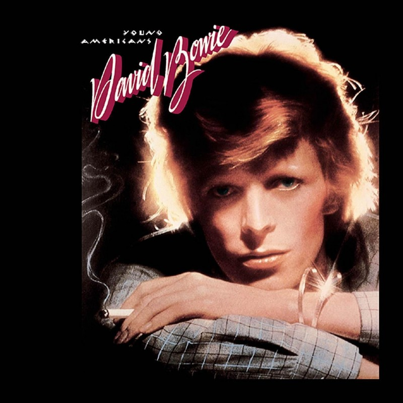 david bowie coperta album Young Americans 1975