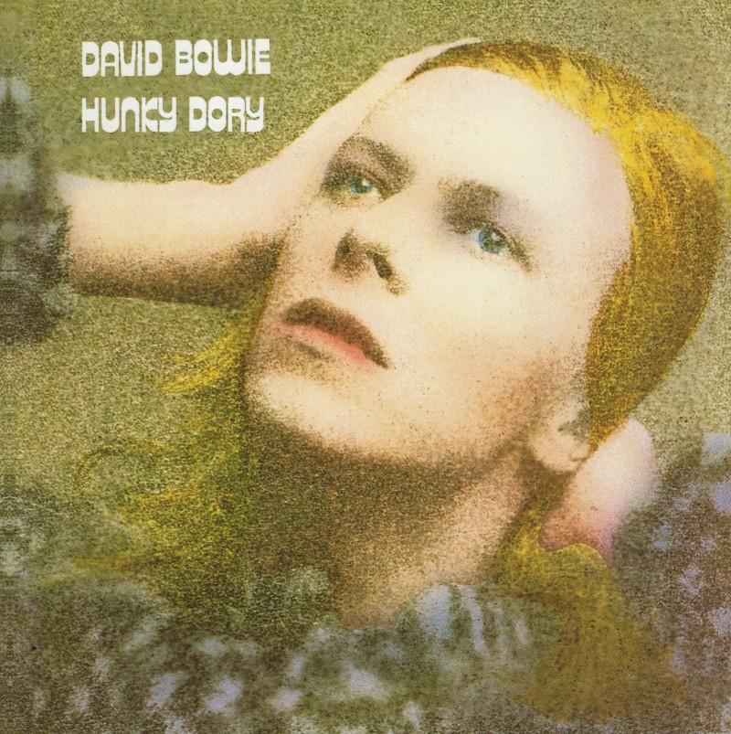 david bowie coperta albumului Hunky Dory 1971