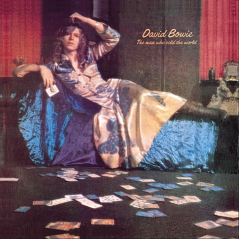 david bowie coperta albumului The Man Who Sold The World 1970