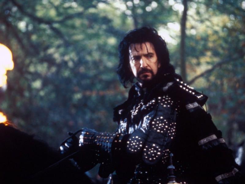 "Alan Rickman în ""Robin Hood"""