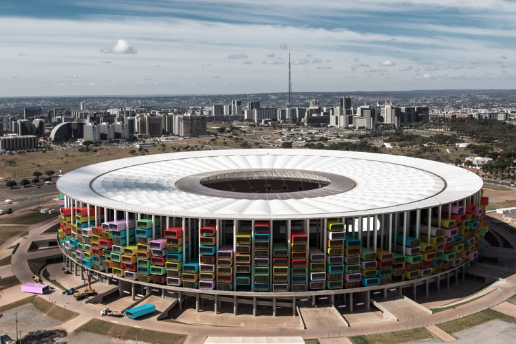 Casa Futebol din Brazilia