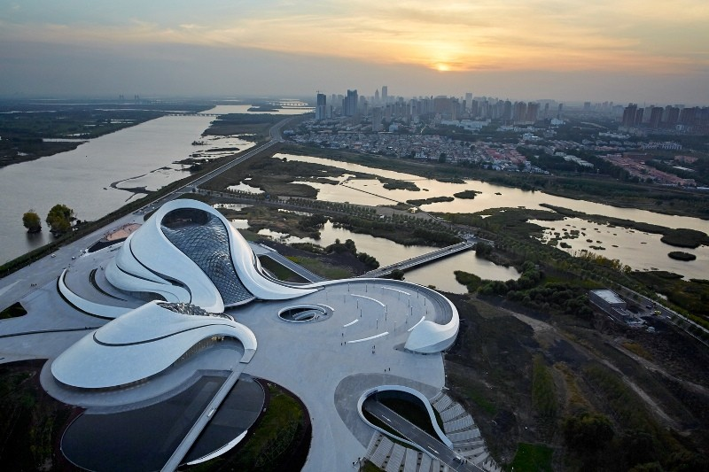 Clădirea Operei din Harbin, China