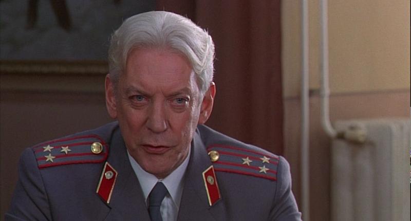 "Donald Sutherland în ""Citizen X"""