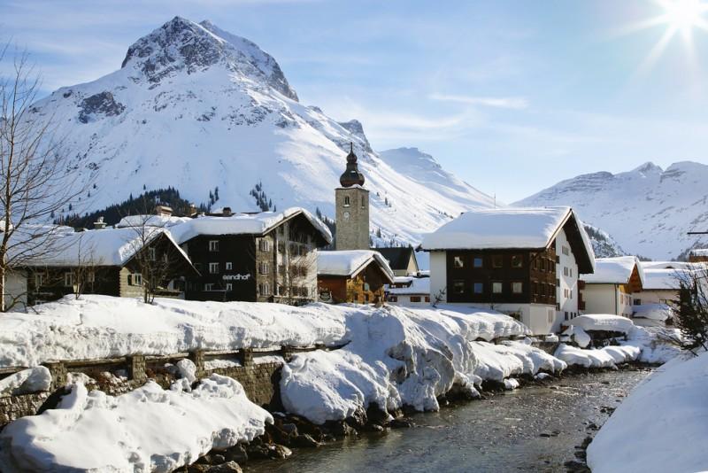 Lech, Austria Igor Plotnikov Shutterstock