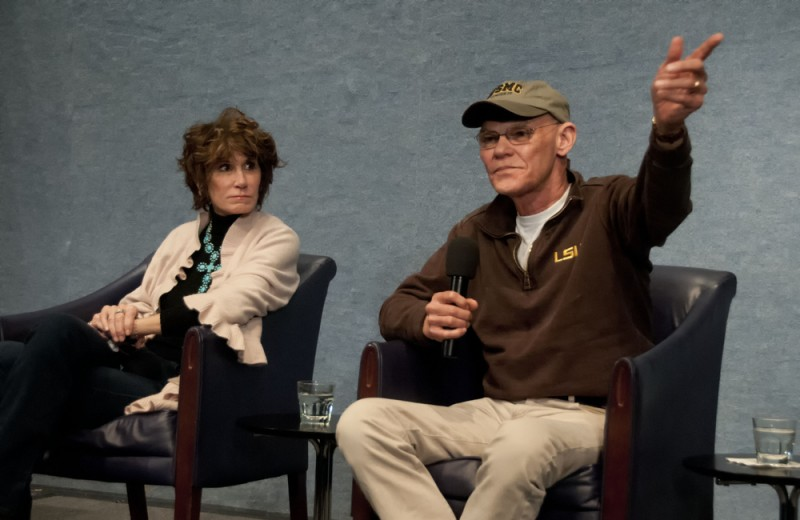Mary Matalin and James Carville Albert H. Teich Shutterstock