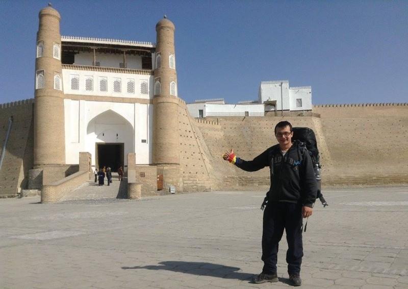 Timotei Rad in în Uzbekistan