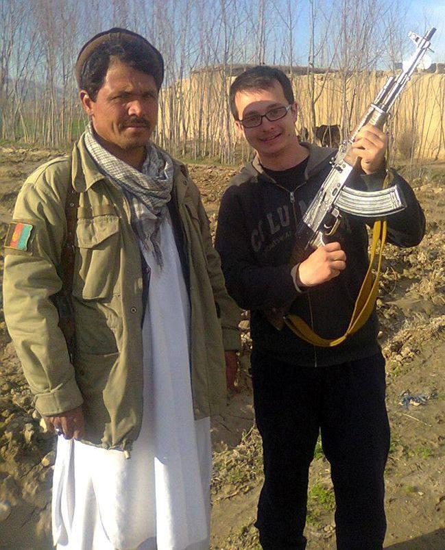 Timotei Rad in afganistan