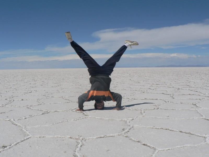 Timotei Rad in desertul de sare