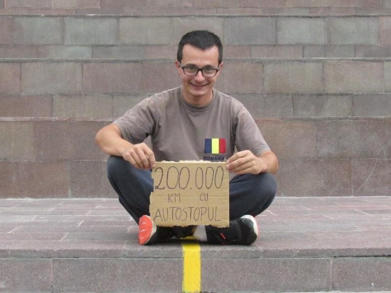 Timotei Rad pe linia Ecuatorului