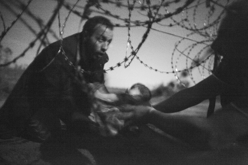 World Press Photo 2016 Warren Richardson, Ungaria