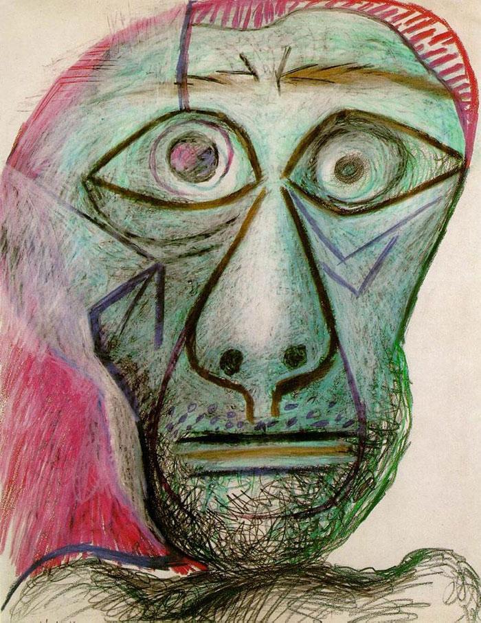 autoportretul lui Picasso 12