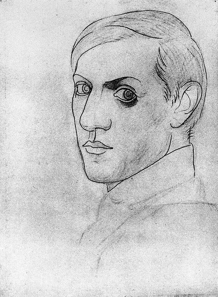 autoportretul lui Picasso 6